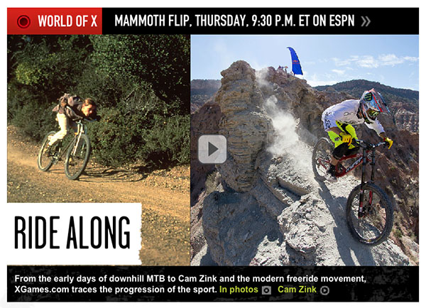 From founding to free ride, the evolution of MTB gallery on ESPN.