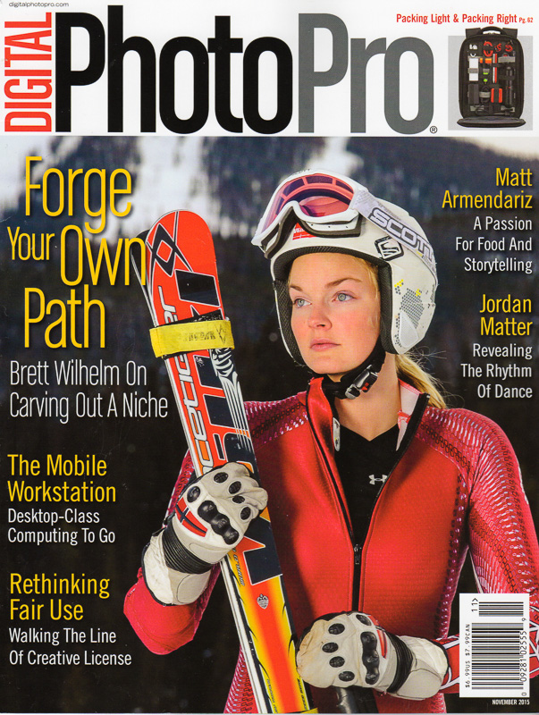 The November 2015 issue of Digital Photo Pro.